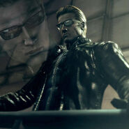 Wesker Resident Evil 5 by insaneRay