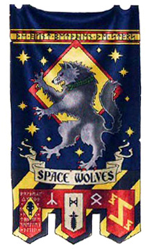 Space Wolves Banners Dodgy Iconography on S...