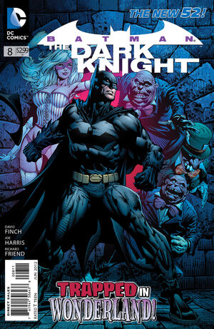 Cover for Batman: The Dark Knight #8