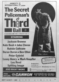 The Secret Policeman's Third Ball wikipedia duran duran lou reed