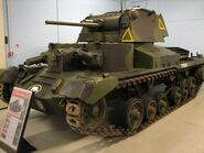 Bovington 105 Cruiser Mk1 1