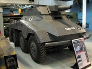 SdKfz 234-3 1 Bovington