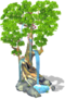Deco growing tree SW