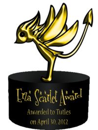 Erza Scarlet Award 1