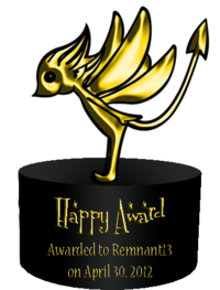Happy Award 1