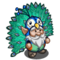 Peacock Gnome-icon