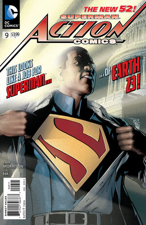 Cover for Action Comics #9