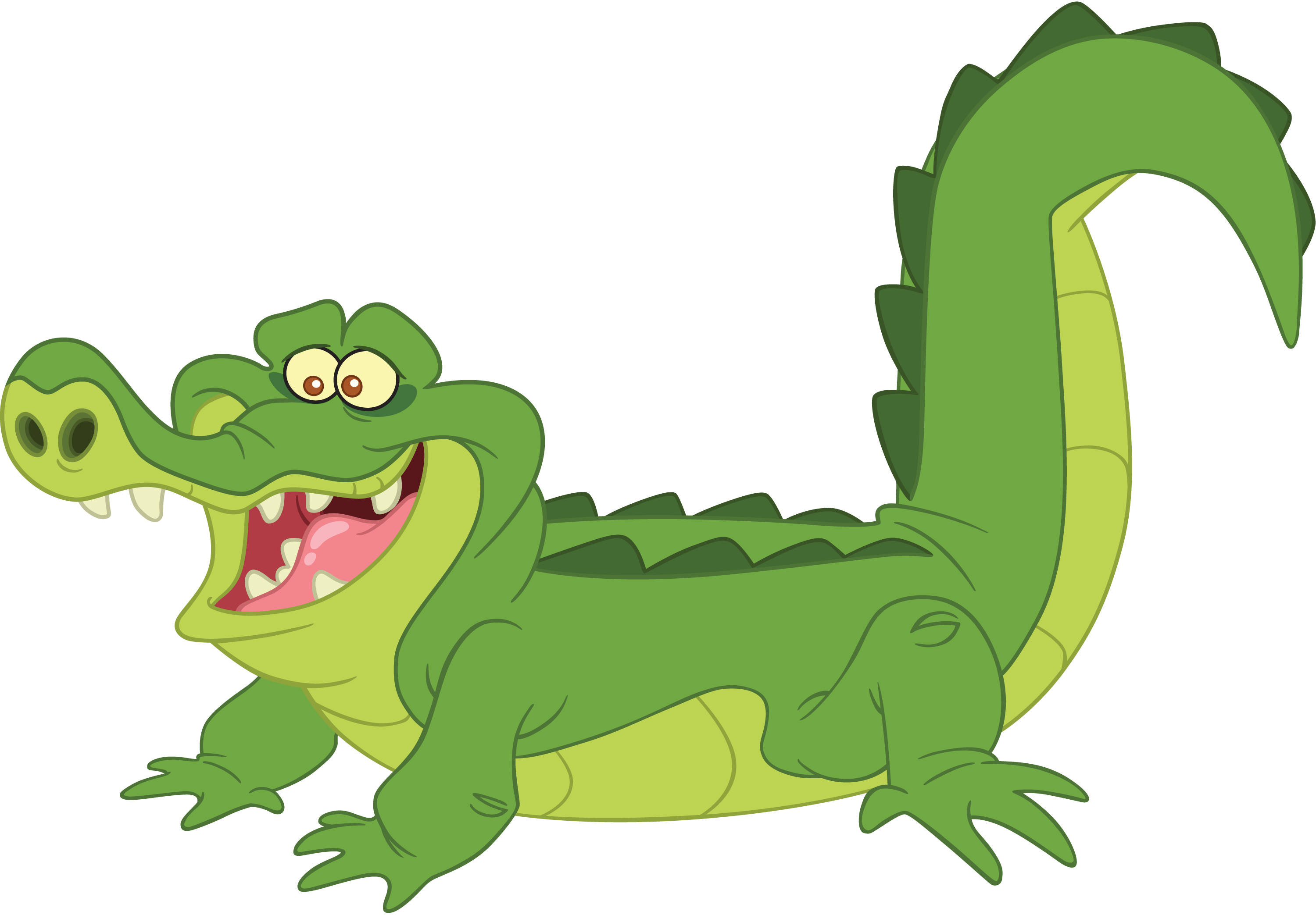 Tick-Tock the Crocodile as he appears in Jake and the Never Land ...