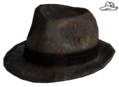 Dapper gambler hat