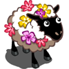 Flower Covered Sheep-icon