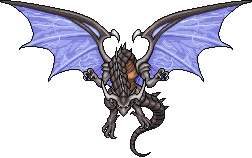Bahamut FFV sprite