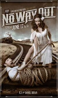No Way Out 2012 poster