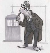 Amy Mebberson 11th Doctor Kermit sonic