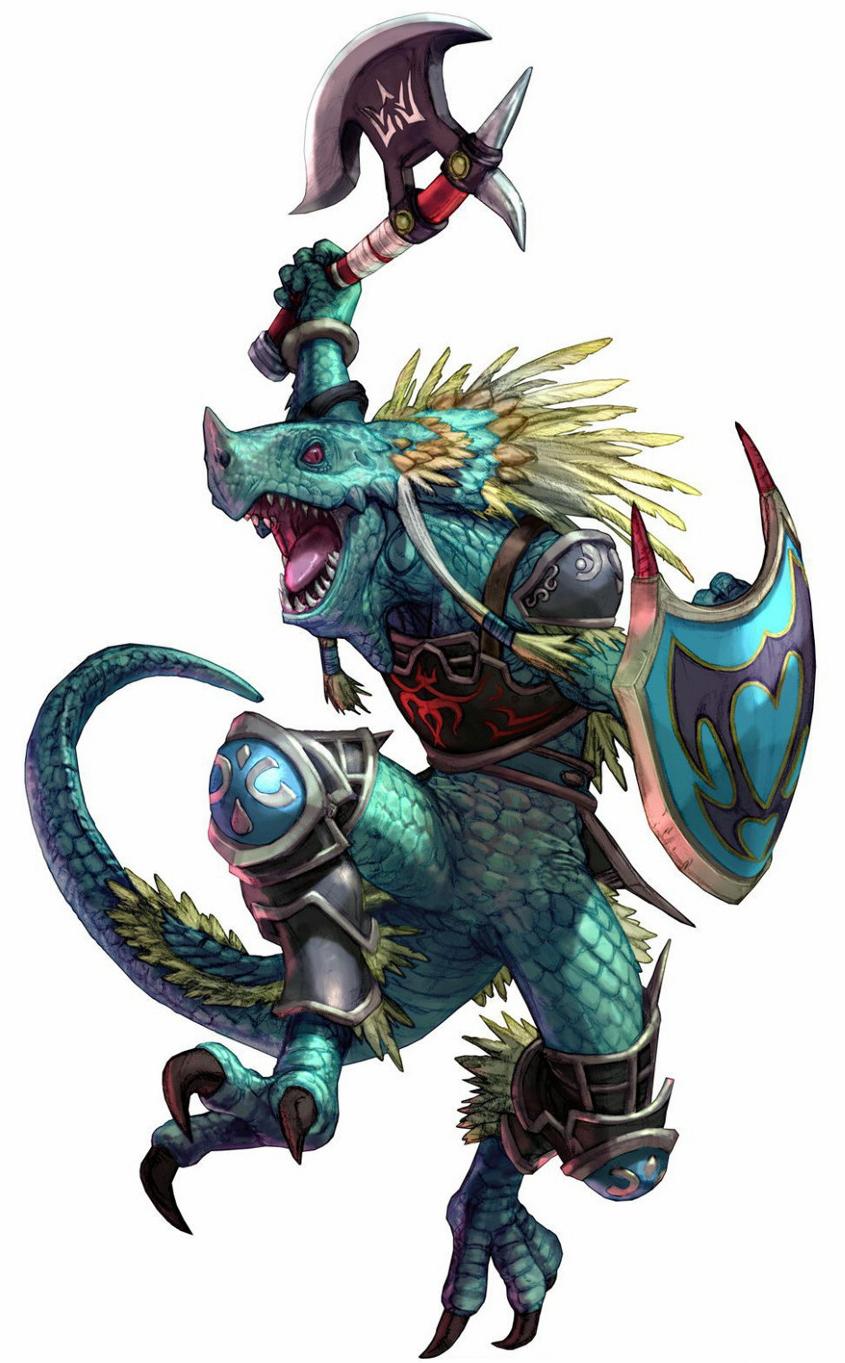 LizalfosLizardfolk In Armor