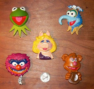 Fun4All2001MuppetMagnetSet