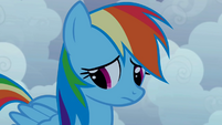 Rainbow Dash doubtful S1E02