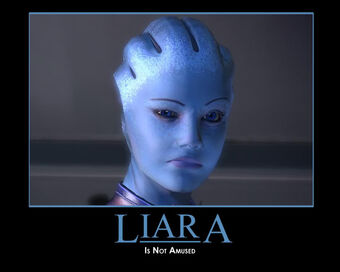 Liara Demotivator