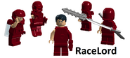RaceLord Armor Suit (Dark Red) Beta