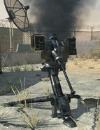 Destroyed Remote Sentry MW3