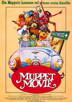 German-Muppet-Movie-Poster