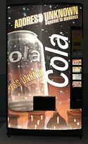 Address Unknown Cola Vending Machine