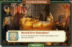 Guardian challange Tut&#39;s Tomb