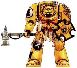 Imperial Fists Vet Terminator Armor