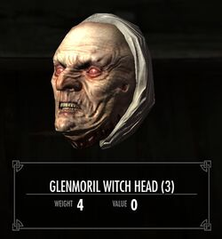Glenmoril Witch Head
