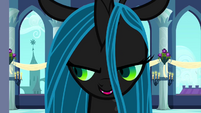 Queen Chrysalis singing S2E26
