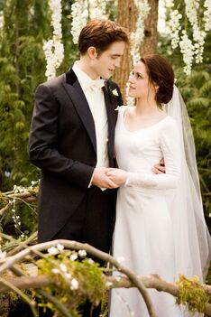 Bella and edward wedding.