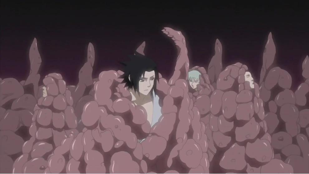 Porque Orochimaru queria tanto o sharingan ? Fushi_Tensei