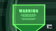 S2e23 movie warning