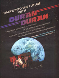 PLANET EARTH WIKIPEDIA DURAN DURAN ADVERT