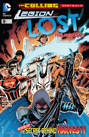 Cover for Legion Lost #9
