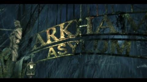 "Batman Arkham Asylum ""Environment"" Trailer"