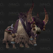 Yak mount white
