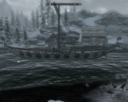 Captain wayfinder's Sea squall in Dawnstar