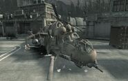 Crashed Hind Countdown CoD4