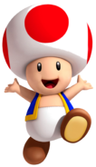Toad Artwork - Super Mario 3D Land