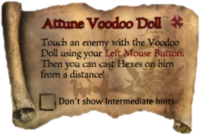 Scroll AttuneVoodooDoll