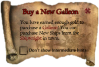 Scroll BuyANewGalleon