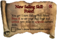 Scroll NewSailingSkillPoint