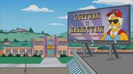Duffman is Mark Twain billboard