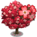 Red Dogwood Tree-icon