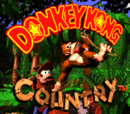 Title Screen - Donkey Kong Country