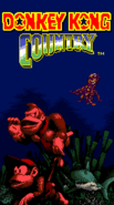 Title Screen - Underwater Themed - Donkey Kong Country (Game Boy Color)