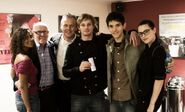 Angel Coulby Richard Wilson Anthony Head Bradley James Colin Morgan and Katie McGrath