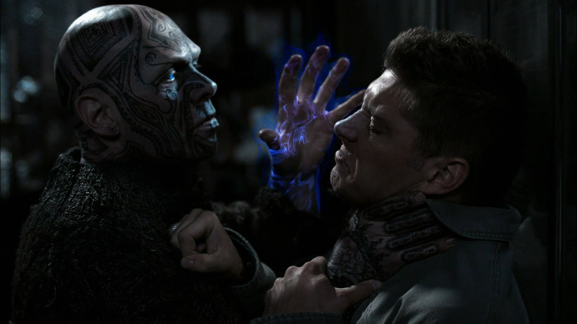 A vengeful Djinn, from the television show Supernatural.