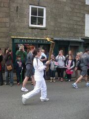 Olympic torch in Penzance!!! 021