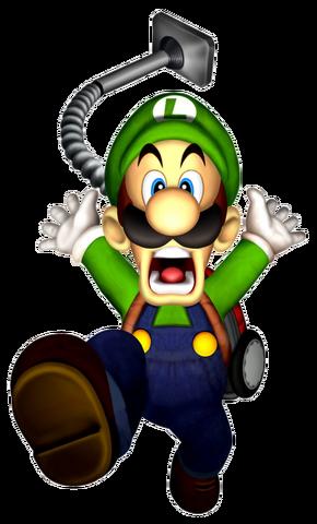 File:Luigi Artwork - Luigi's Mansion.png